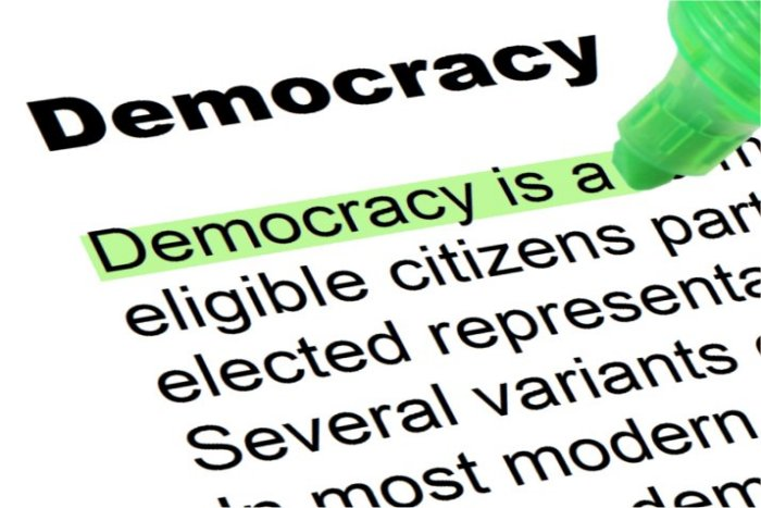 What is democracy to me..?