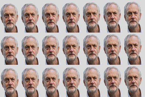 Brought to you by pigeon post … yep Mr Corbyn is definitely bird-brained!