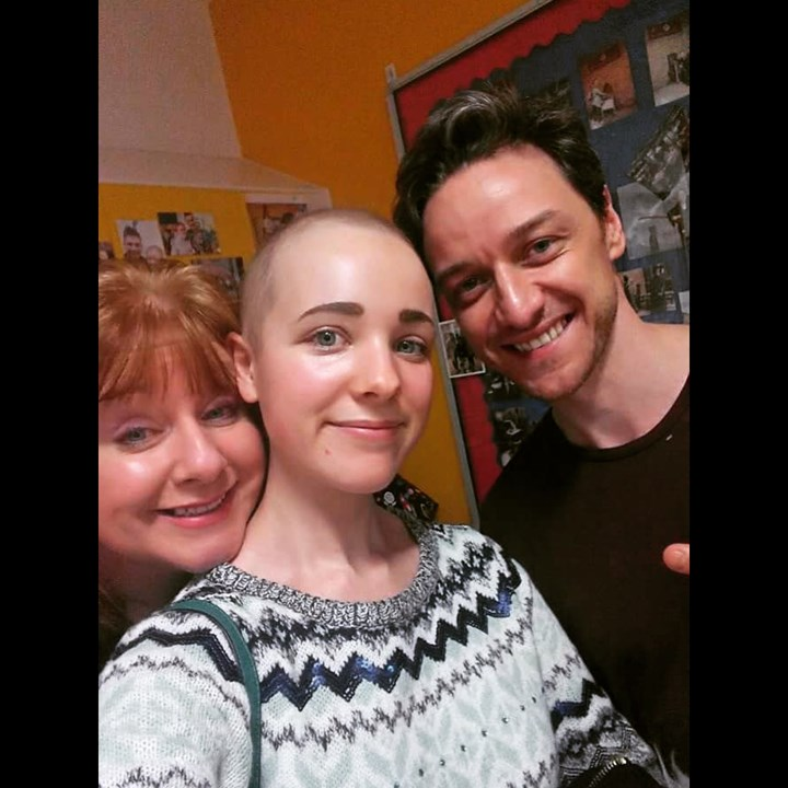 James McAvoy gives £50,000 as Kelly battles for £1m to stay alive