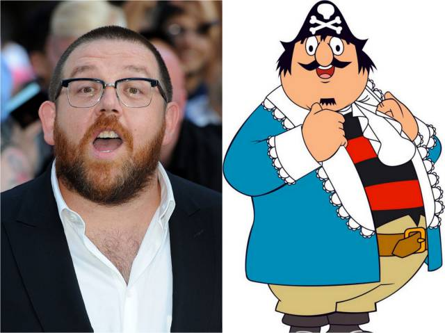 Nick Frost sails in as Pugwash after years of  hogwash and all that naming and shaming