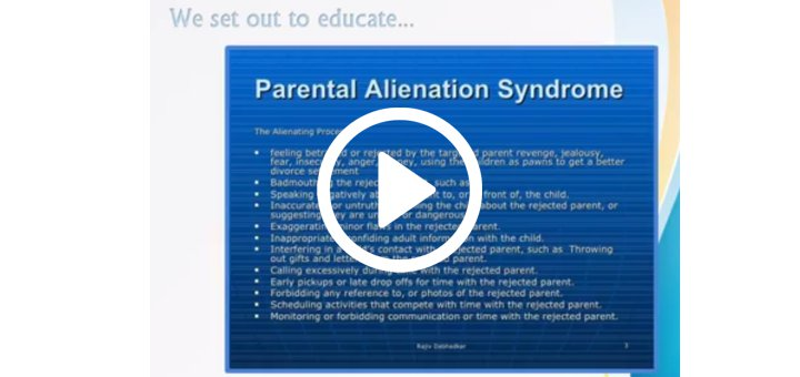 A year when parents stood up for their alienated children…