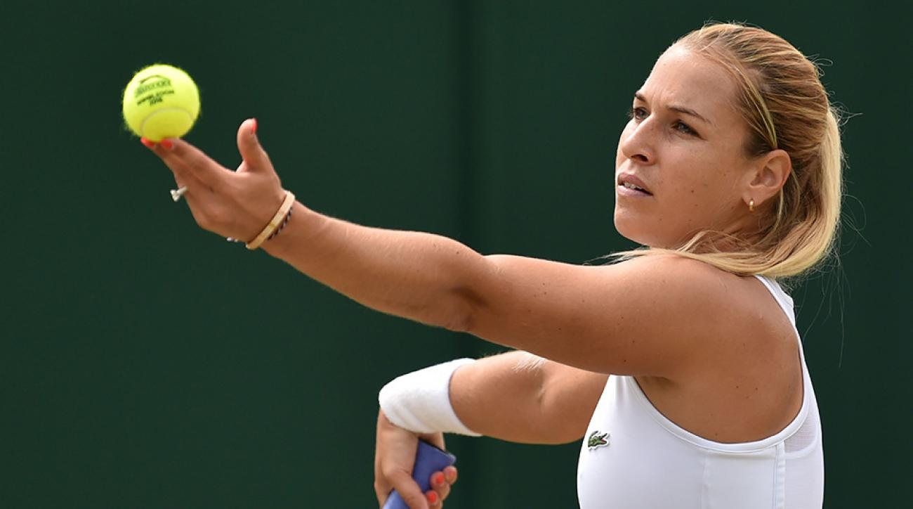 Why Slovak's Dominika definitely thinks Wimbledon is to be sniffed at