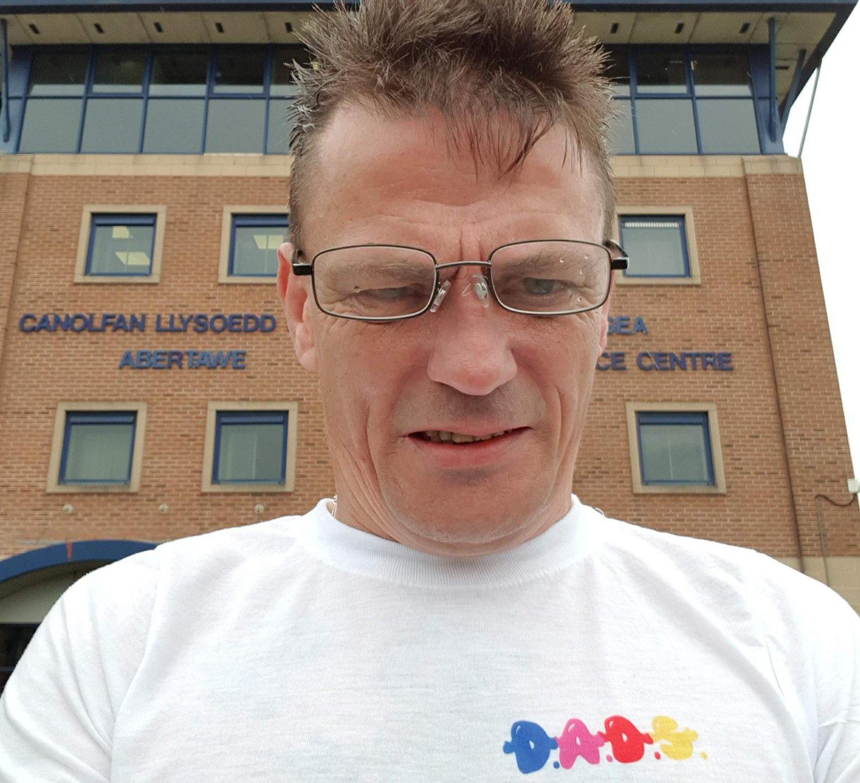 Parental alienation campaigner Andrew shows his true colours