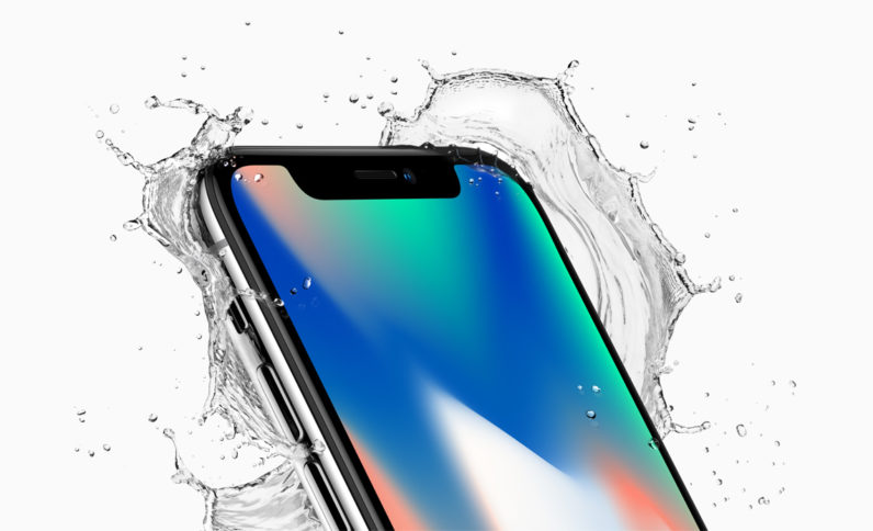 Ten years after the first iPhone, we get the iPhone X … very droll, X = 10 in Roman numerals … oh well