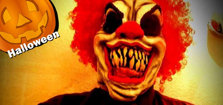 Clowning glory of the terrifying jokers