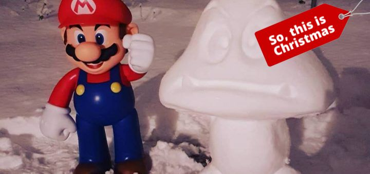 And snow it's time for a Goomba Christmas..!