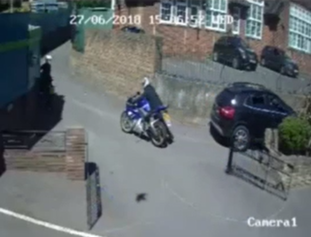 Gotcha! Hunt is on as thieves steal church volunteer's bike in capital's crime epidemic