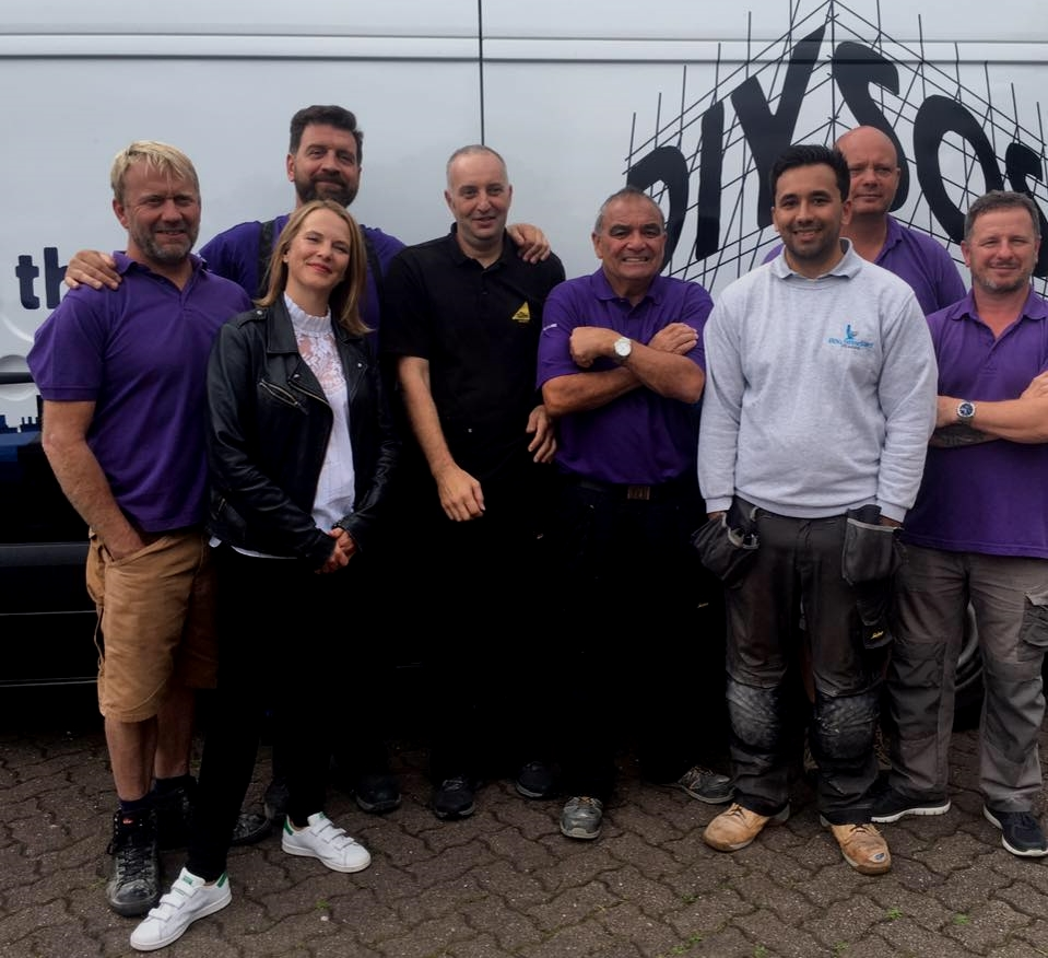 MIS' NVQ Student Recommended for the BBC's DIY SOS