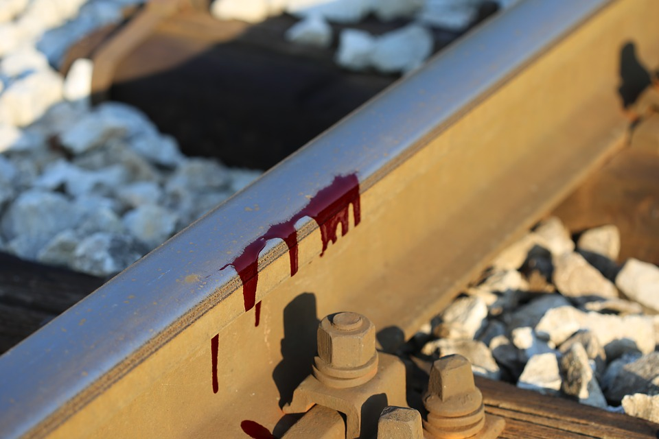 Blood on our tracks because of domestic emotional terrorism…