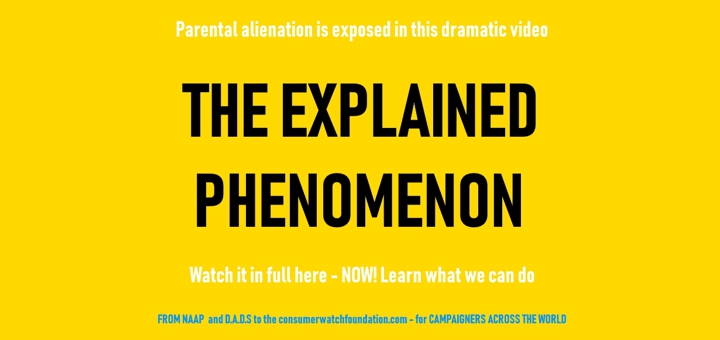 Now we can all watch parental alienation video that's teaching our schools a thing or two
