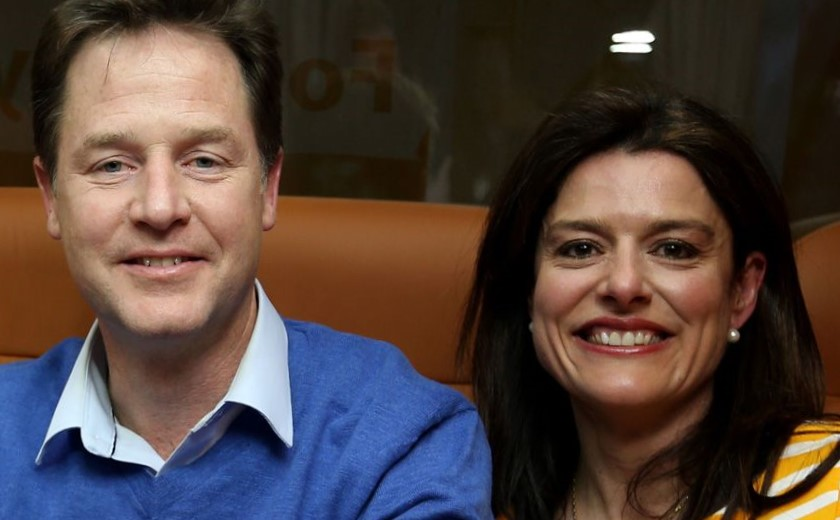 Why were Cleggs allowed sustained Facebook attack on Press while robo-cops 'burned' our letters to him?