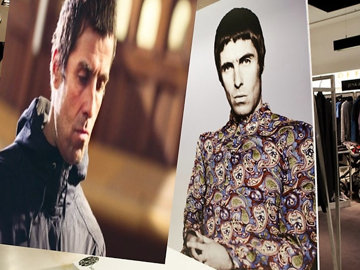 Is it 'mourning glory' as Liam's fashion proves no oasis for him?