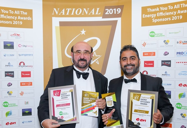 Accolades for the energy efficient firm with a big heart